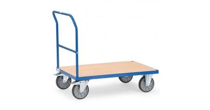 Chariot modulable à dossier de poussée