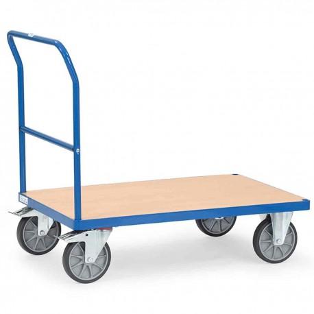 Chariot modulable à dossier de poussée fixe