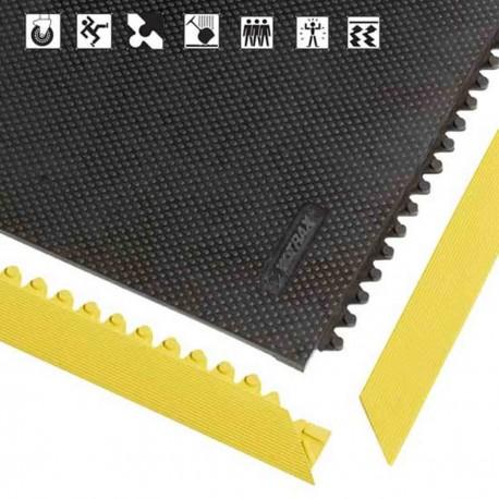 Tapis 040 Slabmat - bordures jaunes