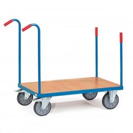 Chariot modulable à barres de poussée