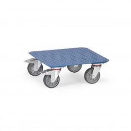 Plateau roulant en acier