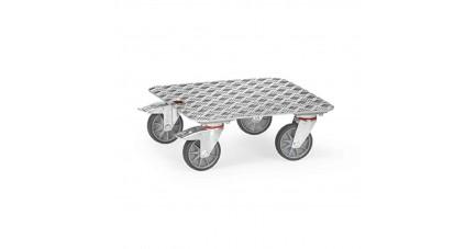 Plateau roulant en aluminium