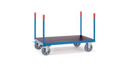Chariot lourd à barres de poussée