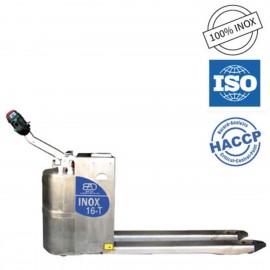 Transpalette électrique inox 16T