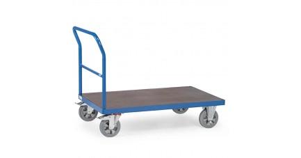 Chariot lourd à dossier de poussée