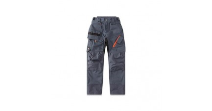 Pantalon high-tech BRAKEL gris - vue de face
