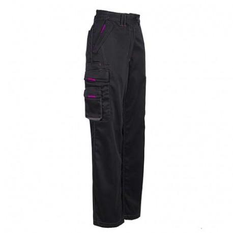 Pantalon femme MINOLA - noir profil