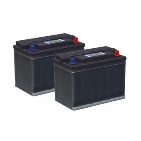 Pack 2 batteries 12V 140Ah - Gel