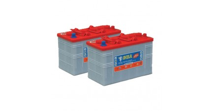Pack 2 batteries 12V 157Ah - Plomb