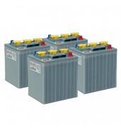 Pack 4 batteries 6V 240Ah - Plomb