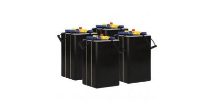 Pack 4 batteries 6V 195Ah - Plomb
