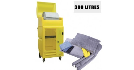 Kit anti pollution tous liquides - 300L