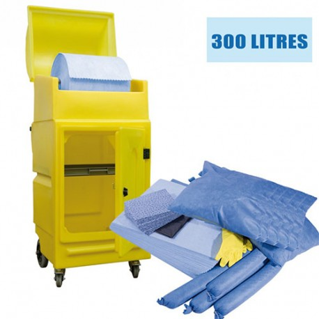 Kit anti pollution hydrocarbures - 300L