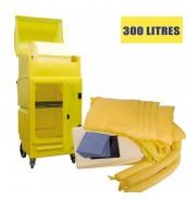 Kit anti pollution chimique 300 L