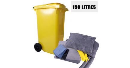 Kit anti pollution tous liquides 150 L