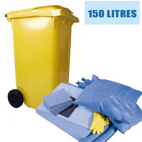 Kit anti pollution hydrocarbures 150 L