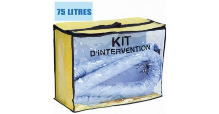 Kit anti pollution hydrocarbures 75 L