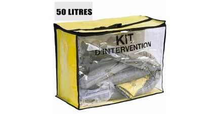 Kit anti pollution tous liquides 50 L