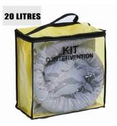 Kit anti pollution tous liquides 20 L