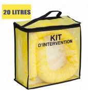Kit anti pollution chimique 20 L