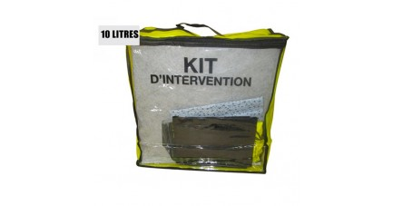 Kit anti pollution tous liquides 10 L