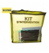 Kit anti pollution chimique 10 L