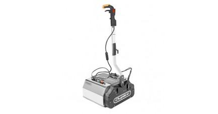 Autolaveuse Vapeur Multisols Inox - Duplex 420 (profil droit)