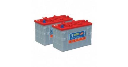 Pack 2 batteries 12V 157Ah - Plomb pour autolaveuse FIMAP MMX 50