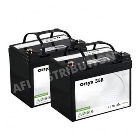 Batteries autolaveuse Floorpul onyx 35 B