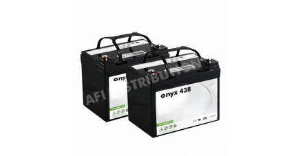 Batteries autolaveuse Floorpul onyx 43 B