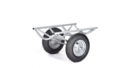 Chariot porte tapis avec pneumatiques