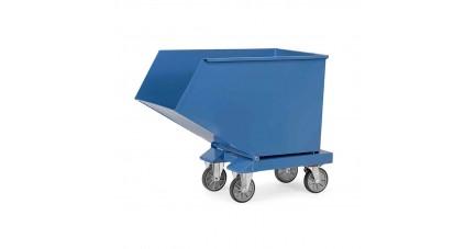 Chariot benne basculante 250 L à 800 L