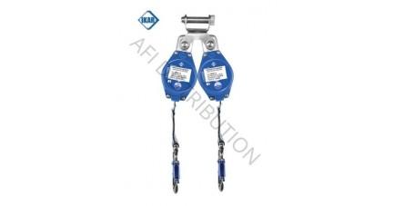 Antichute flexible à sangle CORFIl à double longueur 1,8m fixation DW