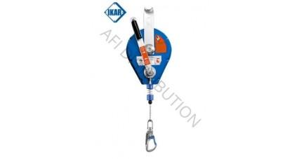Antichute à câble inox avec système de secours CORFIL