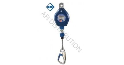 Antichute à rappel automatique flexible à câble