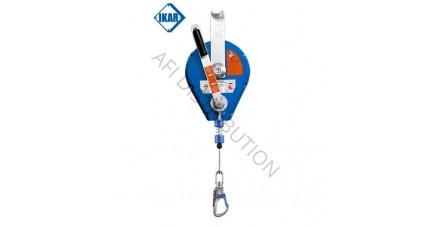 Antichute à rappel automatique HRA à câble avec système de secours