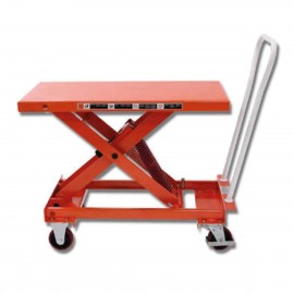 Tables élévatrices manuelles inclinables