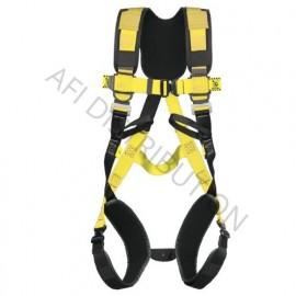 Harnais de sécurité confort 2 points avec des boucles automatiques