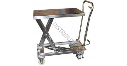Table élévatrice manuelle Inox MH-V