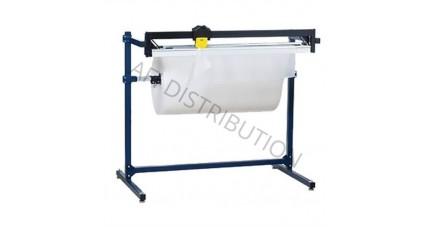Dérouleur coupeur pour papier film à bulles et mousse DCH