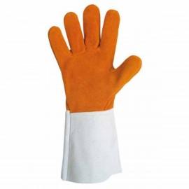 Gant cuir anti-chaleur