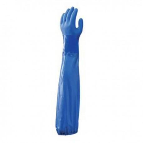 Gant protection chimique avec manchette showa 690