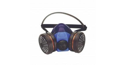 Demi-masque respiratoire silicone