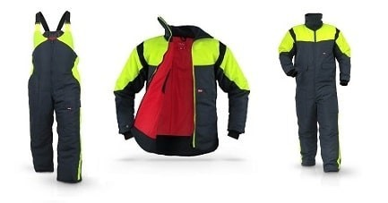 Vêtements de travail logistique du froid